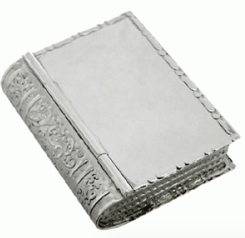 ezüst gyógyszeres doboz